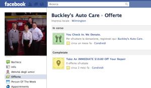 officina, donazioni, facebook, aftermarket, network, marketing, etica, promozioni