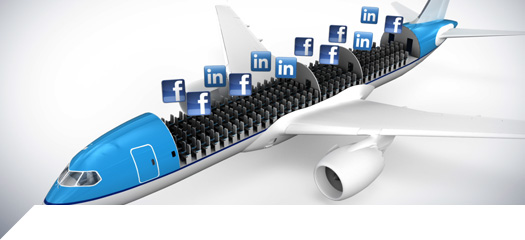 klm, social, marketingando