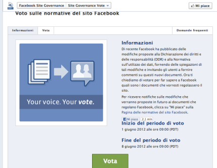 voto fb, marketingando